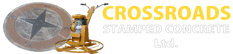 Crossroads Stamped Concrete Logo